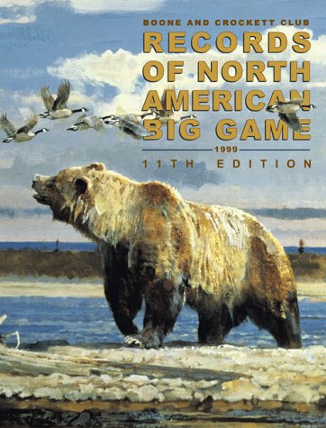 Antique Hunter Game - Records of North American Big Game, 11th Edition