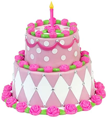 Buy Sophias Miniature Two Tiered Cake Sized For 18 Dolls Detailed Pink Birthday Online At Low Prices In India