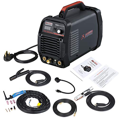 Amico TIG-205 / 200 Amp HF TIG Torch/Stick/Arc Welder 115 & 230V Dual Voltage Welding Machine