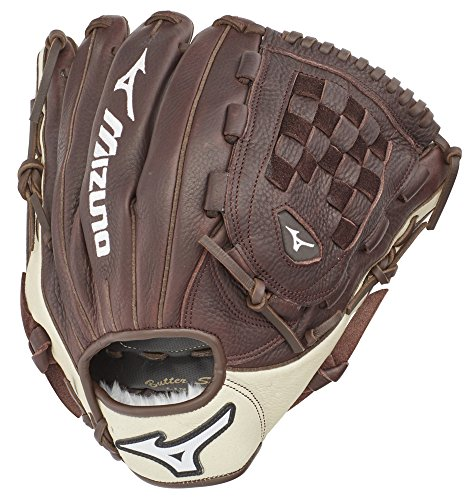 "Mizuno GFN1200B3 Franchise Series Pitcher/Outfield Baseball Gloves, 12"", Right Hand Throw"