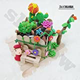 Clay&Modeling Clay , 24 Colors, DIY Soft Molding Craft Oven Baking Clay, Best Kids Gifts for birthday
