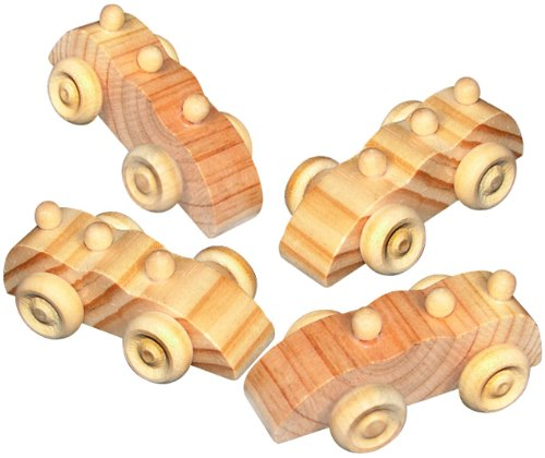 Unpainted Wooden Assortment Fun Express