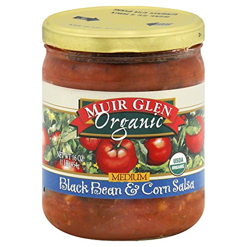 Muir Glen Organic Medium Salsa Black Bean and Corn -- 16 fl oz by Muir Glen