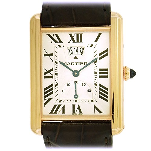 Cartier Tank Louis mechanical-hand-wind mens Watch 118472SX (Certified Pre-owned)