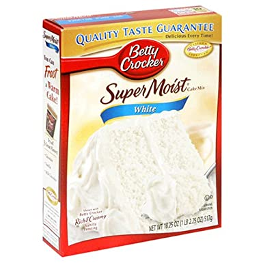 Betty Crocker Super Moist White Cake Mix 432g Pack Of 1