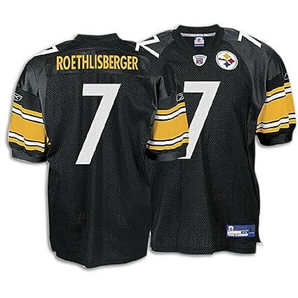1a5bd9f9690 Amazon.com   Reebok Pittsburgh Steelers Ben Roethlisberger Authentic ...