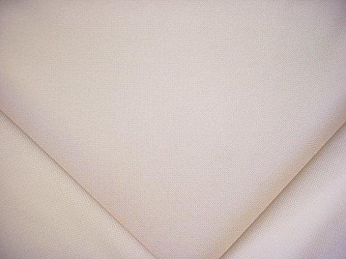 Circa 1801 / Valdese Weavers Propel - Buttercup / Soft White Designer Upholstery Drapery Fabric - By the (Weaver Stripe)