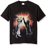 Lost Gods Boys' Cat Five Graphic T-Shirt