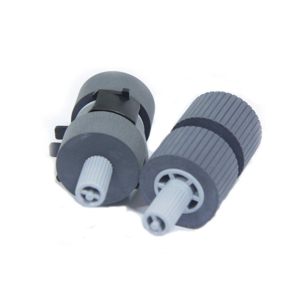 SLON New Scanner Pick Roller Set 2 Rollers For Fujistu 6670 Fi-6670 Fi-6770 Fi-6770A Fi-5650C FI-5650C FI-5750C Fi-5750 Part No :PA03338-K011
