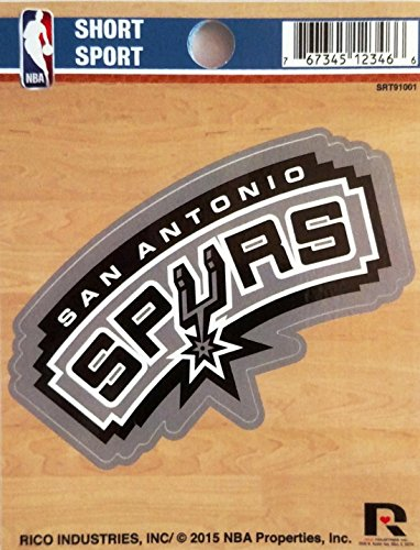 NBA San Antonio Spurs Short Sport Decal (Spurs Die Antonio San)