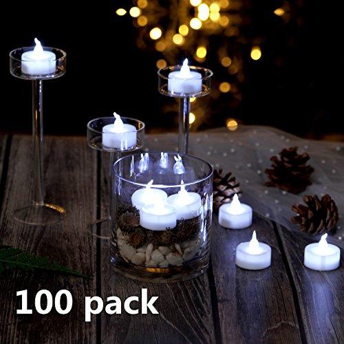 100 Count White Led Christmas Lights - 6