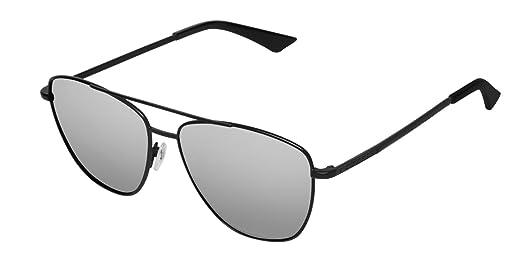 8542250cf1 HAWKERS · LAX · Black · Chrome · Gafas de sol para hombre y mujer:  Amazon.es: Ropa y accesorios