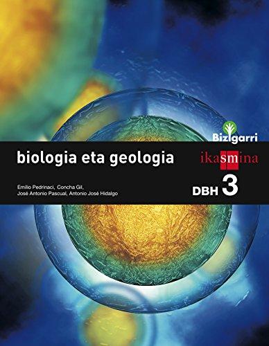 Biologia eta geologia. DBH 3. Bizigarri - 9788498553512