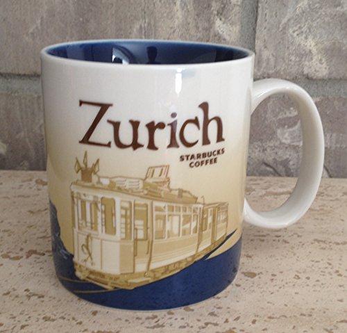 Starbucks Zurich Global Icon Series Mug Switzerland 16 Oz