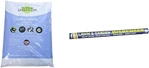 ST Gabriel Organics 80080-P Milky Spore Grub Control Mix Pest Controller & Lawn and Garden Dispenser Tube for Milky Spore