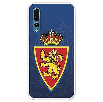 Real Zaragoza Carcasa Oficial Escudo Fondo Azul Huawei P20 Pro: Amazon.es: Electrónica