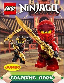 Lego Ninjago Coloring Book: Lego Ninjago Jumbo Coloring Book ...