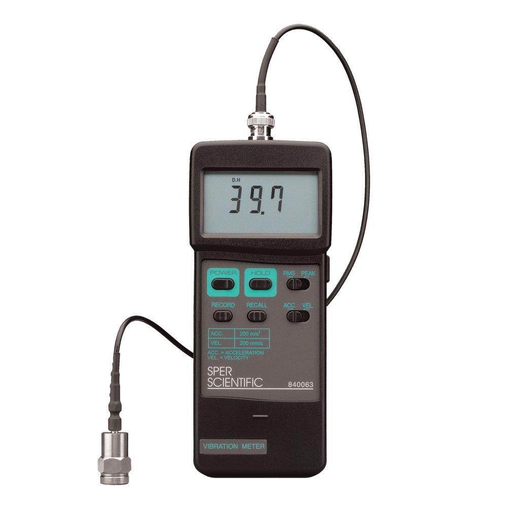 Sper Scientific 840063 Vibration Meter