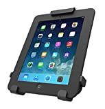 Maclocks 820BRCH Universal Tablet Locking Rugged Case Holder with Swinging Counter or Wall Mount (Black)