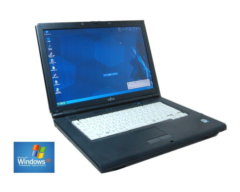 中古ノートパソコン 互換OFFICE付属 格安 すぐに使えます★XPで使用なら十分FUJITSU Core2系900 2.20G/2Gメモリー/160Gハード DVD鑑賞【中古】 B01EPPV5XG, テシオグン b7e831f5