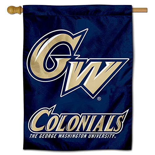 College Flags and Banners Co. George Washington Colonials Banner House Flag