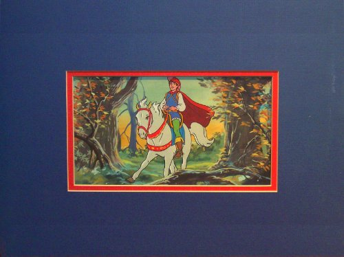 Snow White and the Seven Dwarfs - The Prince Original Watercolor Painting - Disney Storybook Illustration from Disney