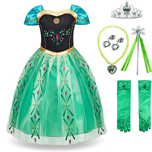 FUNNA Princess Anna Frozen Costume for Toddler