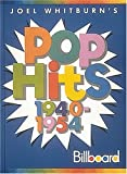Pop Hits, 1940-1954, Joel Whitburn, 0898201063