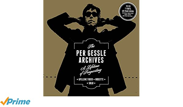 The Per Gessle Archives - A Lifetime of Songwriting - Roxette - Solo - Gyllene Tider : Per Gessle: Amazon.es: Música