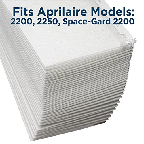 Aprilaire 201 Air Filter for Air Purifier Models, 2200 and 2250; Pack of 4 by Aprilaire (Image #1)'