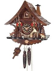 منزل على شكل ساعة حائط ليوم واحد من نهر سيتي كلوكس مع قطعة خشبية للرجال