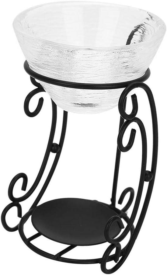 Quemadores de aceite esencial de hierro, romántico aroma de fragancia Candelabro de luz Decoración para el hogar Esencia de aceite esencial Luces de quemador de vela Vela Difusor de aceite esencial