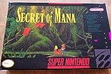 Secret of Mana (SNES, 1993) - Super Nintendo Repro Reproduction Cart w/ Custom Miniature Box
