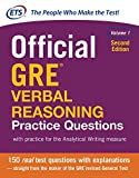 img - for Official GRE Verbal Reasoning Practice Questions, Second Edition, Volume 1 (Test Prep) book / textbook / text book