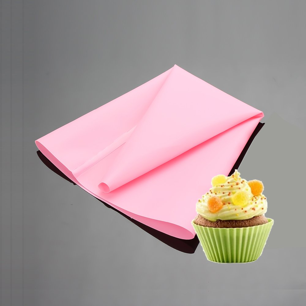 3Pcs Silicone Pastry Bag Thickened Reusable Piping Bags, Premium DIY Frosting Bags Kit, Small-12 inch NUOMI