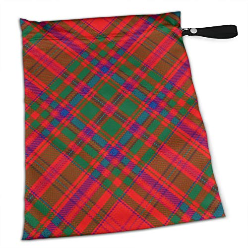 - Scots Style Clan Macdougall Tartan Plaid Tote Travel Accessories Size Happens Reusable Laundry Beach Toddler Dry Bag for Workout Swim Wet Kid Baby Gym Clothes Cloth Diaper Wetbag