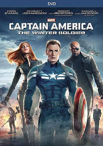 America Dvd - Captain America: The Winter Soldier (DVD)