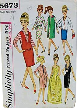 suitable for Barbie Doll Size 29 Handmade 6150 Dolls Clothes 3tlg