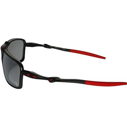 ... Oakley Men s Badman OO6020-07 Polarized Iridium Rectangular Sunglasses 617715622b