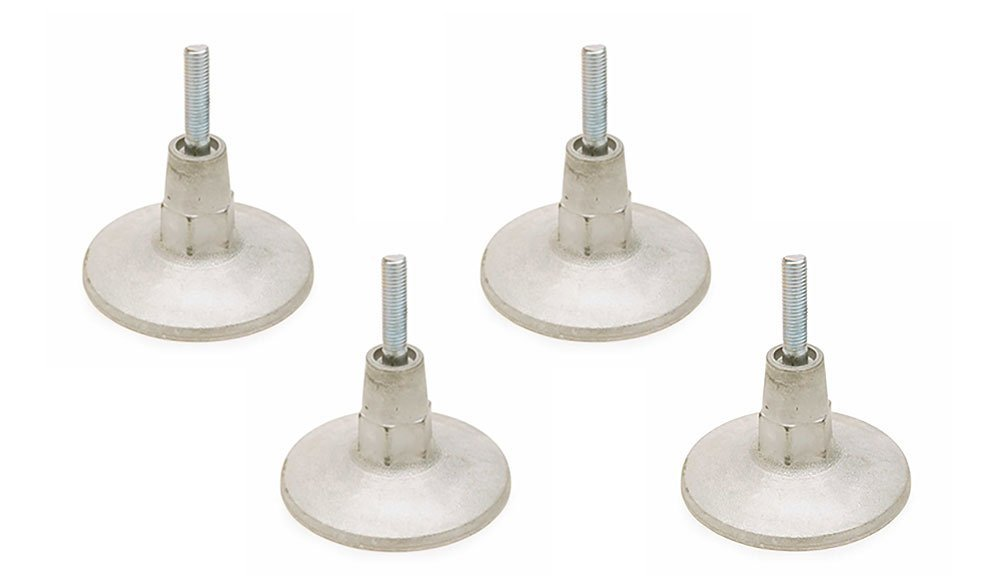 Valley-Dynamo Set of 4 Leg Levelers - Pool Tables & Air Hockey