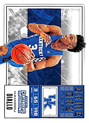 2018-19 Panini Contenders Draft Picks Game Day Tickets #26 Hamidou Diallo Kentucky Wildcats