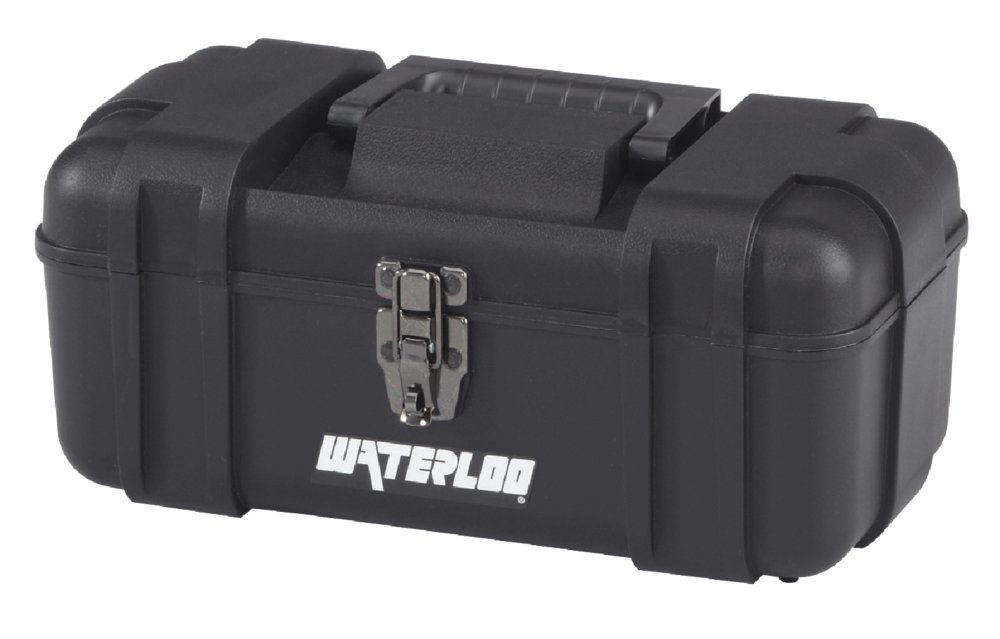Waterloo Portable Series Tool Box made with Lightweight Industrial-Strength Plastic, 14''