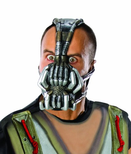 [Batman The Dark Knight Rises Three-Fourth Bane Mask, Multi-Colored, One Size] (Easy Bane Costumes)