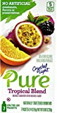 Crystal Light Pure Tropical Blend On The Go Drink Mix, 7-Packet Box (6 Box Pack)