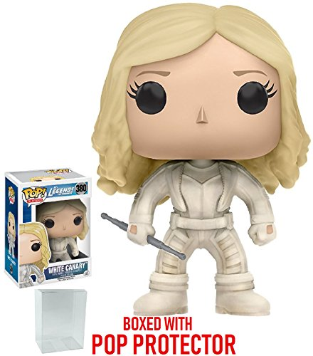 Funko Pop! TV: Legends of Tomorrow - White Canary Vinyl Figure (Bundled with Pop BOX PROTECTOR CASE)