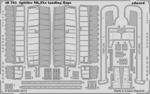 Eduard 1 48 Spitfire Mk. IXc landing flaps   48765 by Eduard