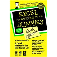 EXCEL for Windows '95 for Dummies Quick Reference