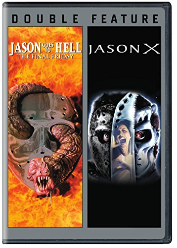DVD : Jason Goes To Hell: The Final Friday/ Jason X (2 Pack, 2 Disc)