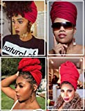 Head Wrap Scarf for African Black Women Cotton