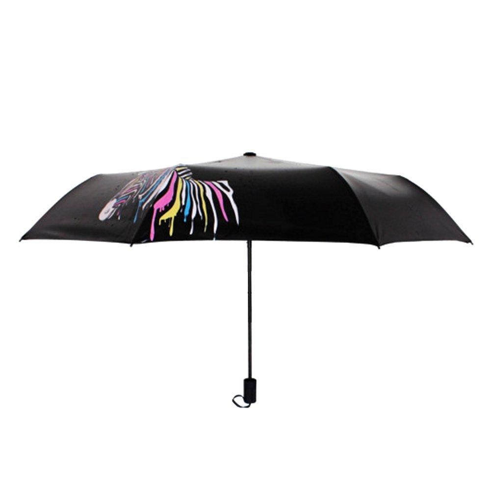 halonzhor Paraguas Paraguas, Anti UV de Zebra Pantallas Lluvia ...